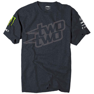 TSHIRT Two Two Logo Heather medium