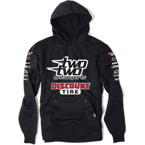 Hoody Two Two Team Pullover bk X-large
