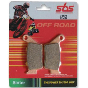 820SI Off-road sintered brake pads