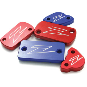 Front brake reservoir cover Honda XR / DRZ / CRF250L red