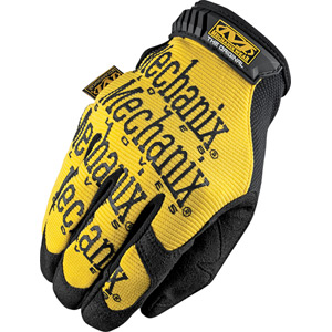 Mechanix Wear Original gloves yellow large yellow
