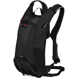 UNZEN 10L w/ 3L Hydration Bladder, Trail Daypack, Black