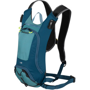 UNZEN 2L w/ 2L Hydration Bladder, Trail Daypack, Blue