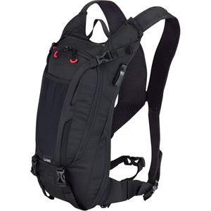 UNZEN 4L Enduro w/ 2L Hydration Bladder, Trail Daypack, Black