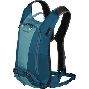 UNZEN 6L w/ 2L Hydration Bladder, Trail Daypack, Blue