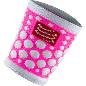Wrist Band 3D.Dots, Pink, One Size