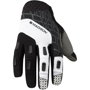 Zenith men's gloves, black / white large