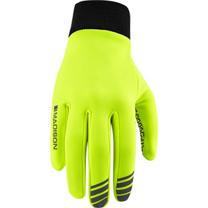 Isoler Roubaix thermal gloves, hi-viz yellow medium