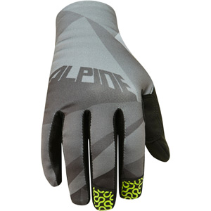 Alpine men's gloves, cloud grey medium