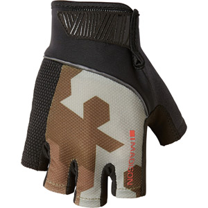 Sportive men's mitts, hex camo