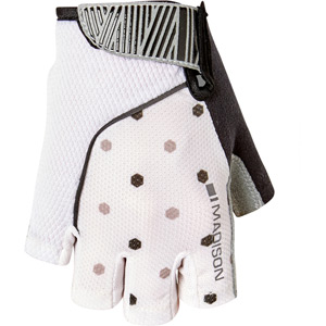 Sportive women's mitts, hex dots