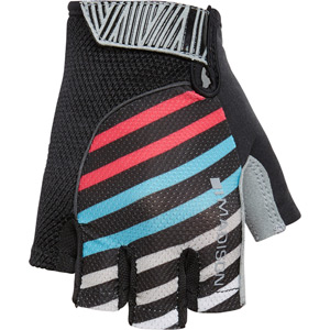 Sportive women's mitts, stripes