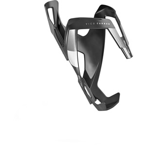 Vico carbon bottle cage matt black / white