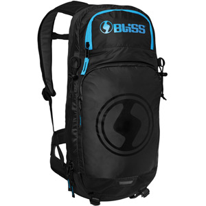 Vertical LD 12 Backpack Back Protector - Black