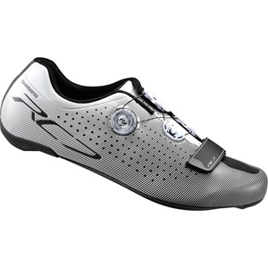 RC7 SPD-SL shoes white, wide fit size 45