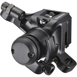 BR-M416 disc brake calliper, without adapter for front or rear, black