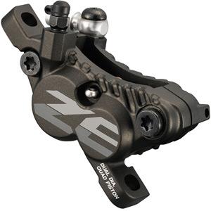 BR-M640 ZEE 4-piston calliper, post mount, for front or rear