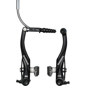 BR-T4000 Alivio V-brakes, rear, black