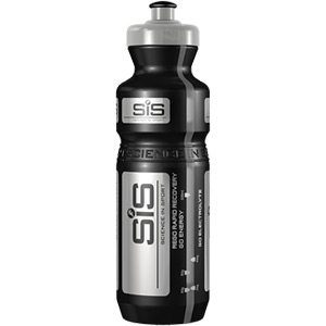 Black and Silver PRO branded water bottle, 800 ml