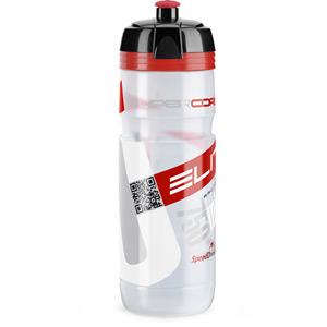 SuperCorsa Bottle Biodegradable clear red logo 750 ml