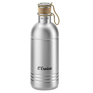 Eroica aluminium bottle with cork stopper 600 ml