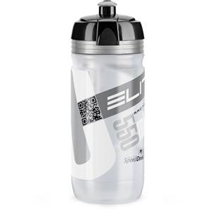 Corsa Bottle Biodegradable clear silver logo 550 ml