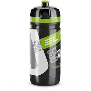Corsa Bottle Biodegradable black green logo 550 ml