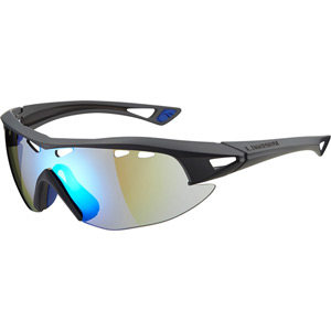 Recon glasses - matt grey frame / Carl Zeiss Vision blue mirror lens