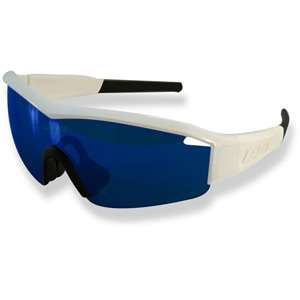 Solid State 1 SS1 Glasses Gloss White frame grey + blue lens triple pack