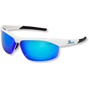 Argon 2 AR2 Glasses Gloss White frame grey + sky blue lens triple pack