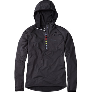 Zenith men's long sleeve hooded top