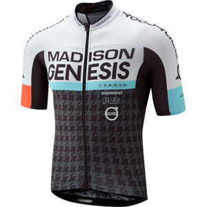 RoadRace Premio men's short sleeve jersey, Madison Genesis Pro Team 2017