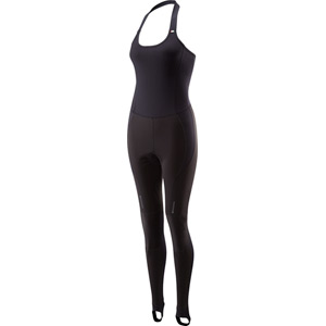 Sportive Race halter neck women's bib tights with pad