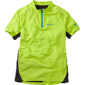 Trail youth short sleeved jersey
