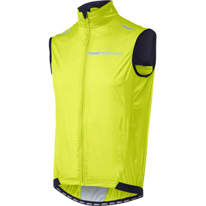 Sportive men's windproof gilet