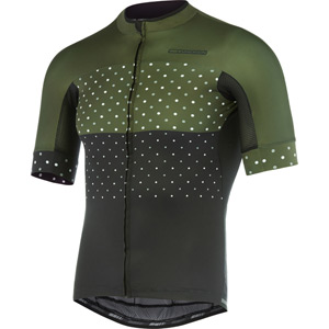 RoadRace Apex men's short sleeve jersey, hex camo