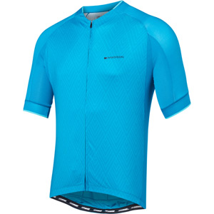 Sportive men's short sleeve jersey, diamonds