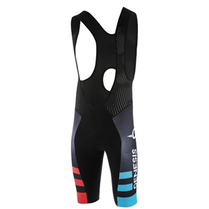 RoadRace Premio men's bib shorts, Madison Genesis Pro Team 2018