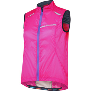 Sportive women's windproof gilet