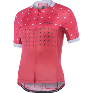 Sportive Apex women's short sleeve jersey, hex dots