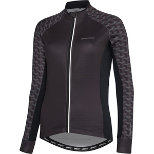 Sportive women's long sleeve thermal roubaix jersey