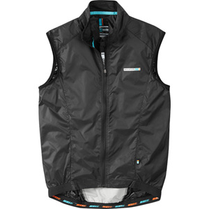 Road Race men's windproof shell gilet