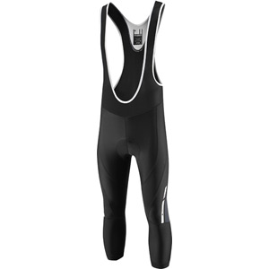 Sportive men's 3/4 bib shorts