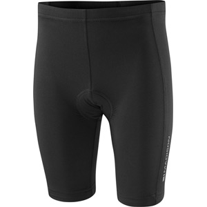 Track kid's shorts, black age 4 - 6