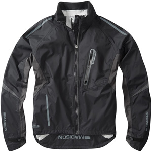 Stellar men's waterproof jacket, stealth black X-large