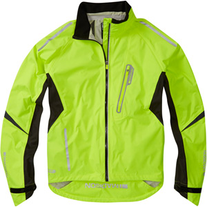 Stellar men's waterproof jacket, hi-viz yellow large