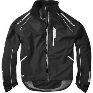 Prime men's waterproof jacket, black X-large