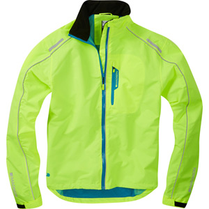 Protec men's waterproof jacket, hi-viz yellow medium