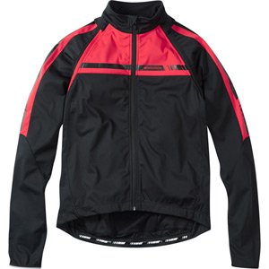 Sportive men's convertible softshell jacket