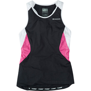 Sportive women's sleeveless jersey